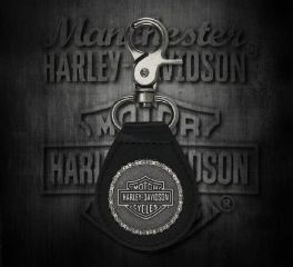 Harley-Davidson® 2D Struck H-D® Chain Keychain, Global Products, Inc. KY30806