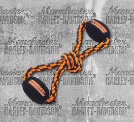 Harley-Davidson® Ball Rope Tug Dog Toy, Nostalgic Art H8400-H-P10DOG