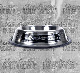 Harley-Davidson® H-D® Stainless Steel Dog Bowl, Nostalgic Art H8532-SSL32