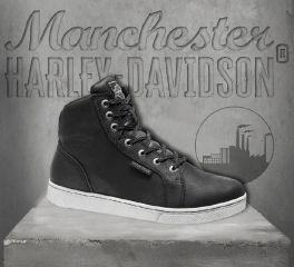Harley-Davidson® Men's Black Midland Waterproof Boots, Wolverine D97062
