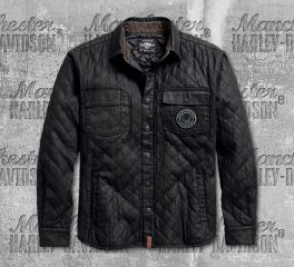Harley-Davidson® Men's Quilted Canvas Jacket 97489-19VM