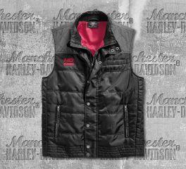 Harley-Davidson® Men's Ripstop Accent Quilted Vest 96589-19VM