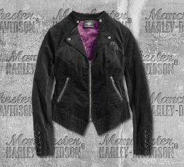 Harley-Davidson® Women's Velour Casual Jacket 96399-19VW