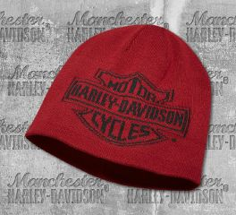 Harley-Davidson® Men's Oversized Logo Knit Hat 97814-19VM