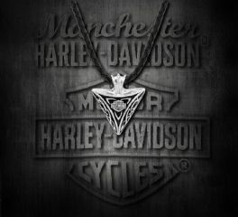 Harley-Davidson® Men's Celtic Pyramid Necklace, MOD Jewelry Group Inc. HDN0382