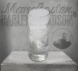 Harley-Davidson® Genuine Oil Glass Shot Glasses, Global Products, Inc. SG21271