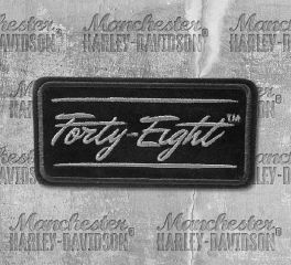 Harley-Davidson® Embroidered Forty-Eight Patch, Global Products, Inc. EM186802