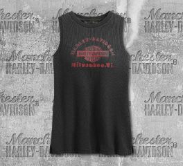 Harley-Davidson® Women's Classic Graphic Muscle Tee 99262-19VW
