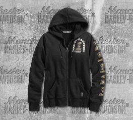 Harley-Davidson® Women's No. 1 Skull Hoodie 99241-19VW