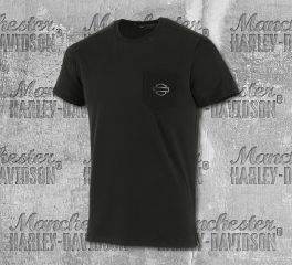 Harley-Davidson® Men's High Density Print Slim Fit Pocket Tee 99265-19VM