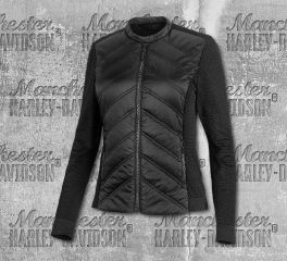 Harley-Davidson® Women's Quilted Stretch Nylon Jacket 99264-19VW