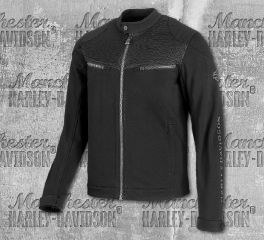 Harley-Davidson® Men's 3D Mesh Accent Casual Slim Fit Jacket 98419-19VM
