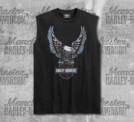 Harley-Davidson® Men's Upright Eagle Sleeveless Tee 99267-19VM