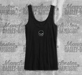 Harley-Davidson® Women's Foil Print Skull Tank 99226-19VW