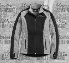 Harley-Davidson® Women's Skull Windproof Fleece Jacket 98407-19VW