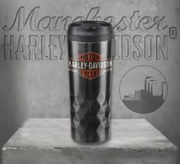 Harley-Davidson® Core Trademark Logo Stainless Steel Travel Mug HDX-98612