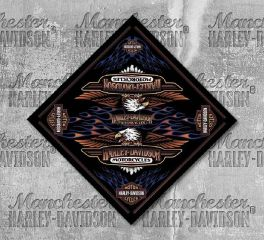 Harley-Davidson® Men's Vintage Logo Bandana, Global Products, Inc. BA28966