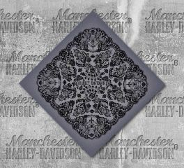 Harley-Davidson® Women's Lace Skull Bandana, Global Products, Inc. BA29180