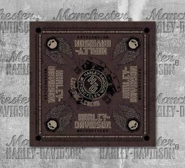 Harley-Davidson® Men's Forged Willie G Skull Bandana, Global Products, Inc. BA31939