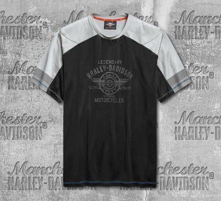 Harley-Davidson® Men's Colourblock Short Sleeve Tee 96684-19VM