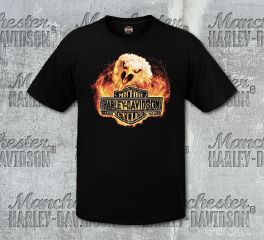 Harley-Davidson® Men's Fire Screech Short Sleeve Tee, RK Stratman Inc. R003123