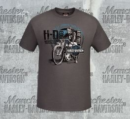 Harley-Davidson® Men's Scratch Rider Short Sleeve Tee, RK Stratman Inc. R003137