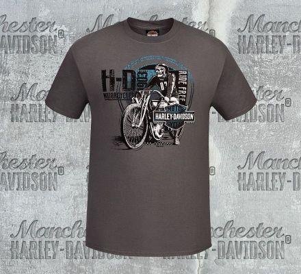 Harley-Davidson® Men's Scratch Rider Short Sleeve Tee, RK Stratman Inc. R003137