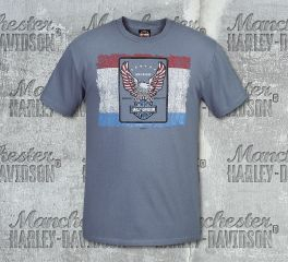 Harley-Davidson® Men's Heritage Short Sleeve Tee, RK Stratman Inc. R003145