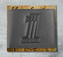 Harley-Davidson® Men's Embossed No.1 Logo Leather Billfold Wallet, Leather Accessory Source XML3851