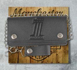 Harley-Davidson® Men's Embossed No.1 Tall Trucker Biker Wallet, Leather Accessory Source XML3802