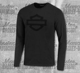 Harley-Davidson® Men's Embossed Logo Long Sleeve Tee 99028-20VM