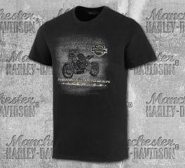 Harley-Davidson® Men's Live Wire Graphic Short Sleeve Tee 99077-20VM