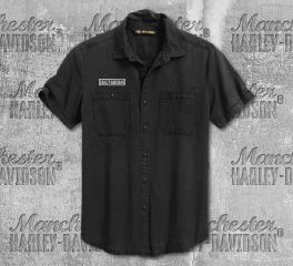 Harley-Davidson® Men's V-Twin Short Sleeve Shirt 99009-20VM