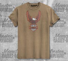 Harley-Davidson® Men's H-D® Eagle Short Sleeve Tee 99023-20VM