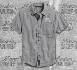 Harley-Davidson® Men's No.1 Graphic Short Sleeve Shirt 99006-20VM