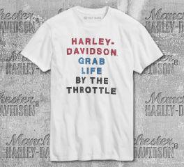Harley-Davidson® Men's By The Throttle Short Sleeve Tee 99020-20VM