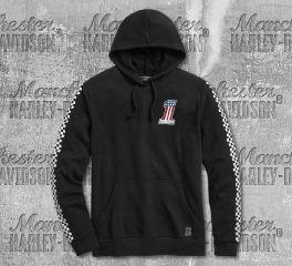 Harley-Davidson® Men's Checkered Pullover Hoodie 99031-20VM