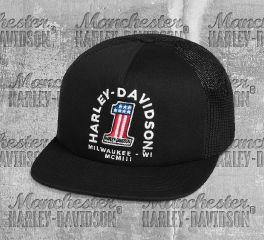 Harley-Davidson® Men's No.1 Trucker Cap 99400-20VM