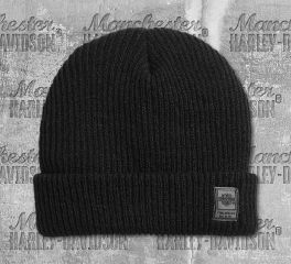 Harley-Davidson® Men's Cuffed Rib-Knit Hat 99404-20VM