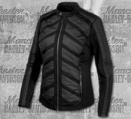 Harley-Davidson® Women's Mixed Media Casual Jacket 97533-19VW
