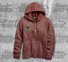 Harley-Davidson® Women's Embroidered Eagle Pullover Hoodie 96729-19VW
