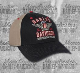 Harley-Davidson® Men's Colorblocked Baseball Cap, Global Products, Inc. BCC33812