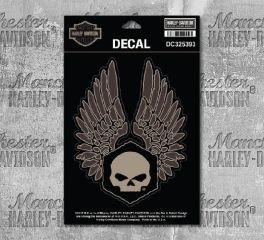 Harley-Davidson® Medium Forged Wings Decal, Global Products, Inc. DC325393