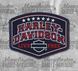 Harley-Davidson® Embroidered Harley® Pride Emblem Patch, Global Products, Inc. EM299842