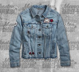 Harley-Davidson® Women's Roam Free Denim Jacket 96748-19VW
