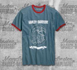 Harley-Davidson® Men's Eagle Slub Short Sleeve Tee 96780-19VM