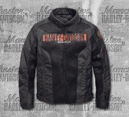 Harley-Davidson® Men's Nemahbin Mesh Textile Jacket 97152-19EM