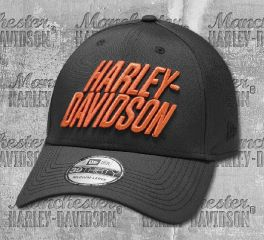 Harley-Davidson® Men's Laser Performance 39THIRTY Baseball Cap 97856-19VM
