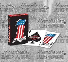 Harley-Davidson® No.1 Harley® Playing Cards 638