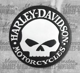 Harley-Davidson® Willie G Skull Emblem Patch HDEML1000